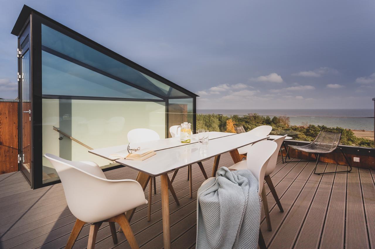 Dachterrasse mit Meerblick GipfelAlm